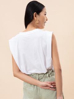 Apparel-Casual Daze White T-shirt