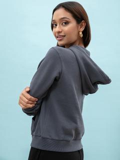Apparel-Pocket Full Of Charcoal Grey Hoodie