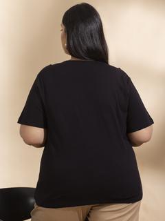 Apparel-Black Just Levelled Up Tshirt