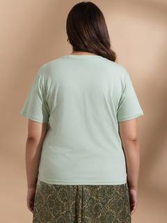 Apparel-Spirulina Express Your Basic Side Tshirt