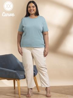 Apparel-Aqua Express Your Basic Side Tshirt