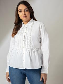 Apparel-I Fancy You White Shirt
