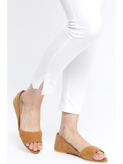 Tan Keeping It Chic Flats