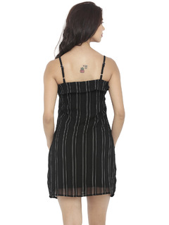 Apparel-Textures Of Stripe Dress