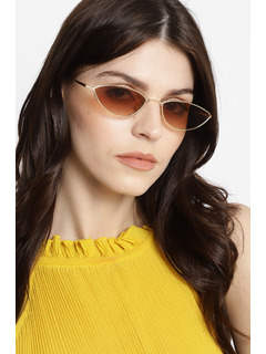 The 90s Baby Gold Sunglasses