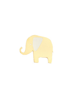 The Big Gold Elephant Brooch