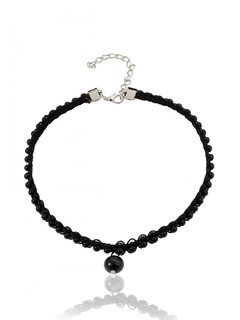 The Black Pearl Choker Necklace