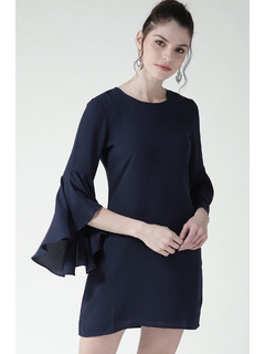 The Blue Bell Sleeve Dress