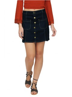 The Classic Buttoned Down Skirt