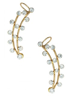 The Line Of Beauty Ear Cuff Pair