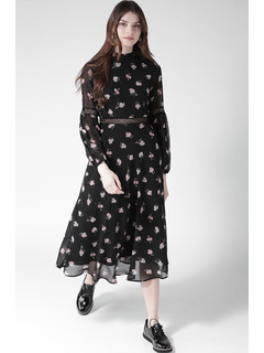 The Night Flower Blooms Dress