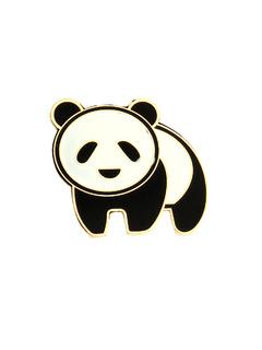 The Precious Panda Brooch