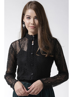 The Sheer Elegance Of Lace Top