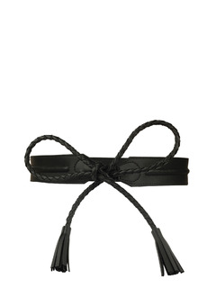 Time To Tie The Knot Braided Black Belt