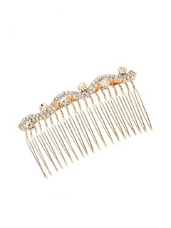 Up And Down The Curve Studded Haircomb