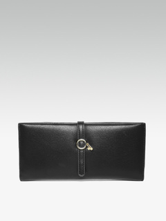 Bags-Sliding In Cool Trinkets Black Wallet