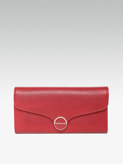 Bags-The Brighter Side Red Wallet