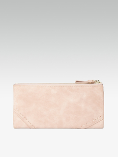 Bags-Stitch It Up Pink Wallet