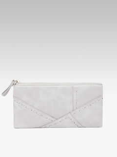 Bags-Stitch It Up Grey Wallet