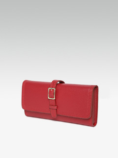 Bags-Red Slide Away Wallet