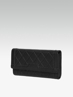 Bags-Black Quilts Of Fun Wallet