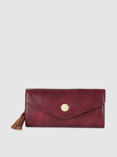Bags-Good Babe Maroon Wallet