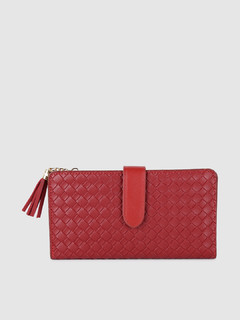 Bags-Shine By Us Red Wallet