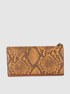 Bags-So Wild Tan Animal Print Wallet
