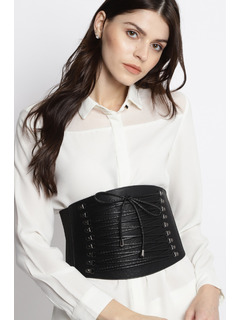 Wake Pray Slay Corset Belt