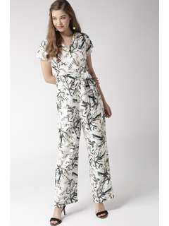 You Are Beautiful Floral Jumpsuit