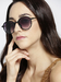 Sunglasses-Moving In Circles Black Sunglasses1