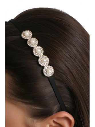 Hair Accessories-A Pearly Night Hairband3