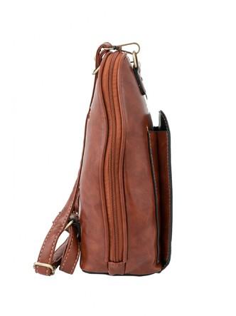 Backpacks-A Pretty Brown Bow Backpack 5