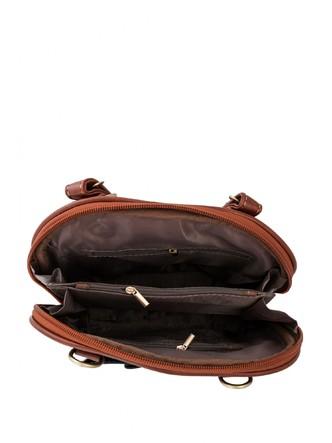 Backpacks-A Pretty Brown Bow Backpack 2