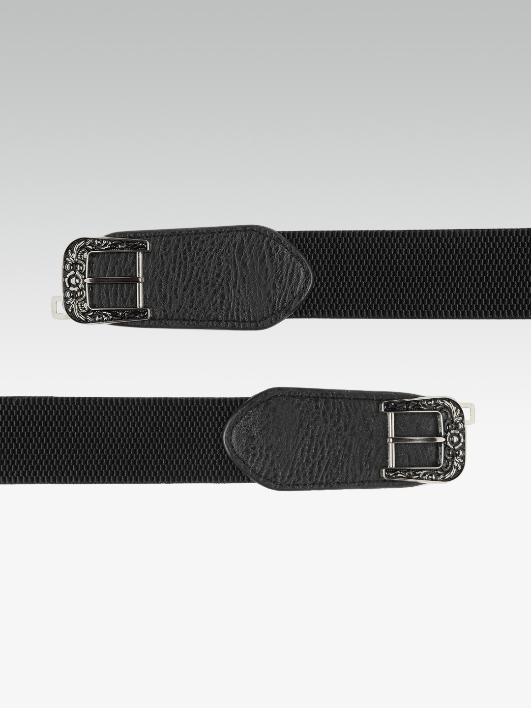 Belts-Hooked On Details Black Waist Belt2