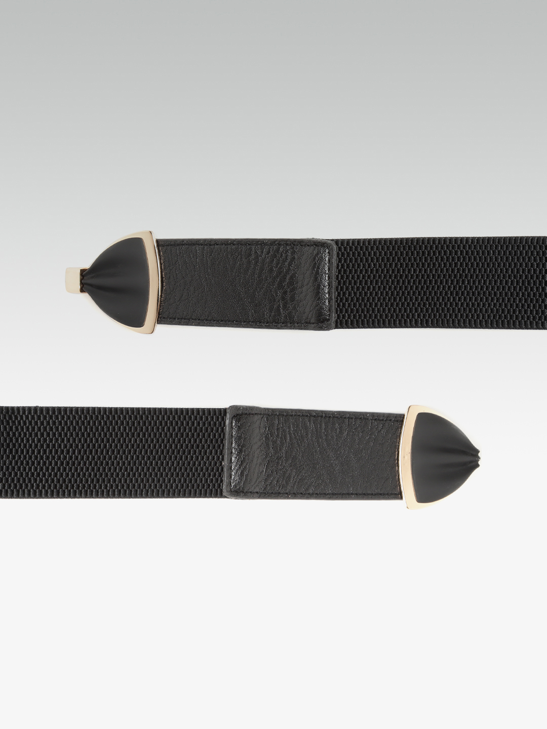 Belts-Golden Glow Bow Black Belt3
