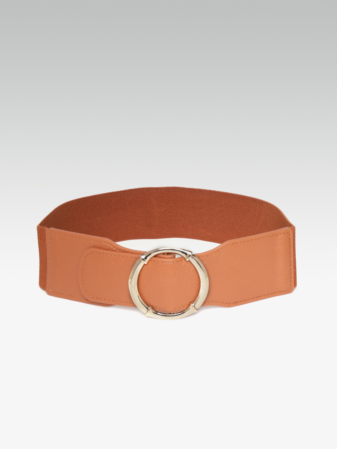 Belts-Brown Stay In Our Circle Waist Belt2