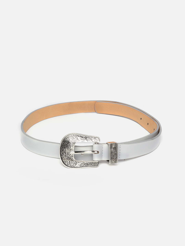 Belts-Grey The Western Vintage Belt1