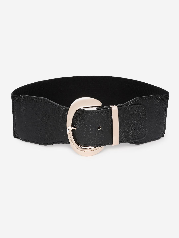 Belts-Buckle Me On Black Broad Belt1