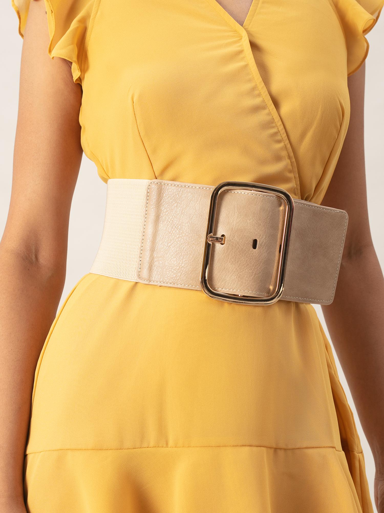 Belts-Beige Box It Up Belt1