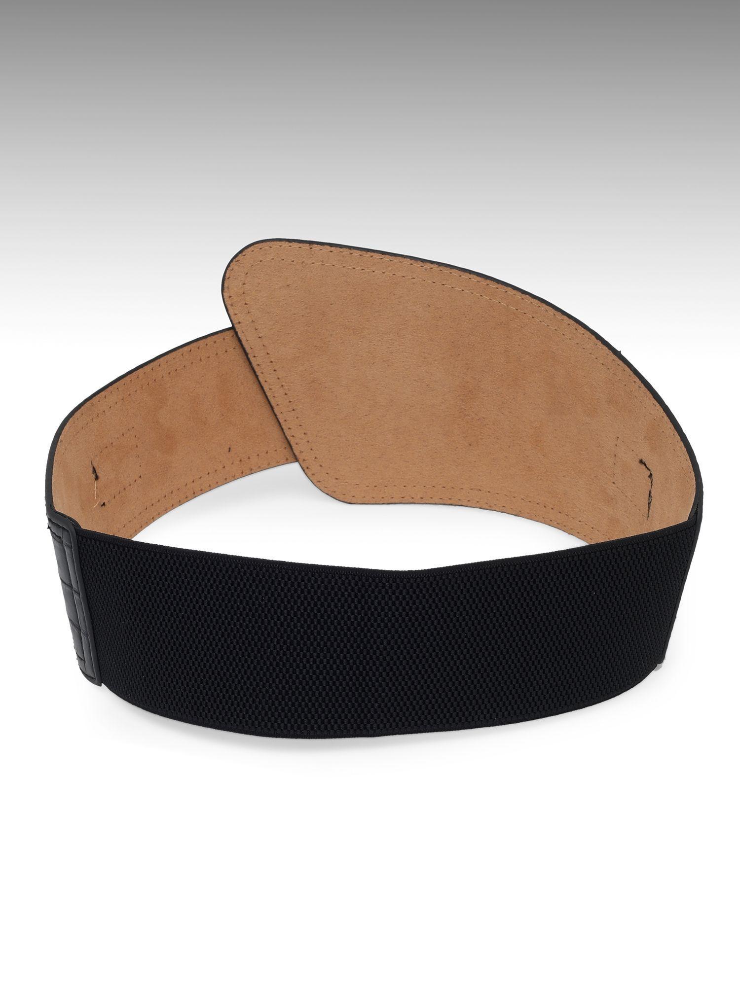 Belts-Black I Am The Catch High Waist Belt4