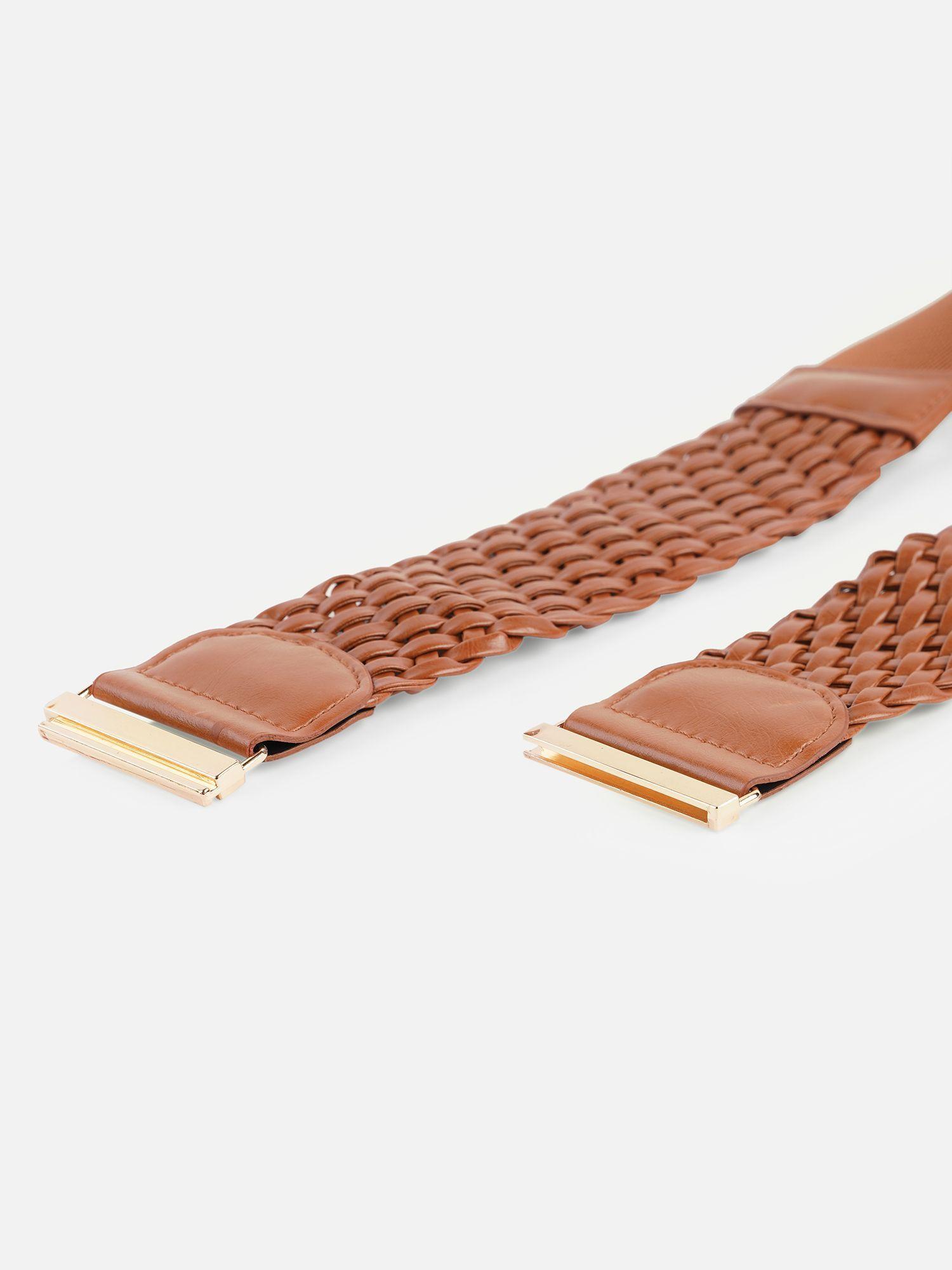 Belts-Brown Just Like Braided Belt5