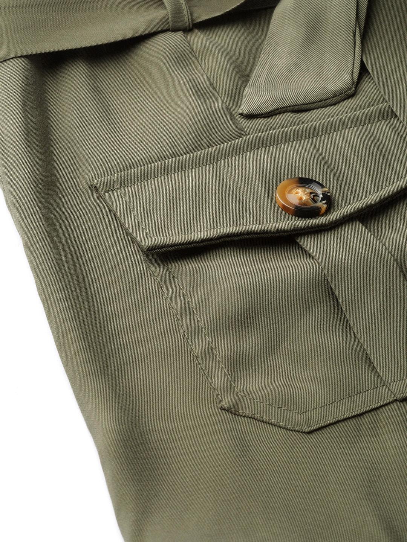 Shorts and Skirts-Olive Green Safari Bug Shorts6