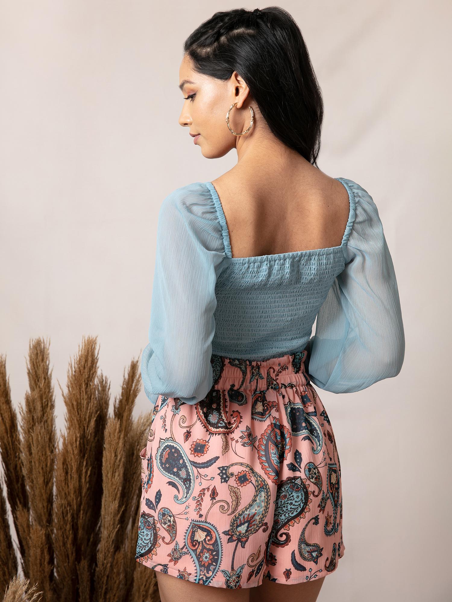 Shorts and Skirts-Pink And Cute Shorts3
