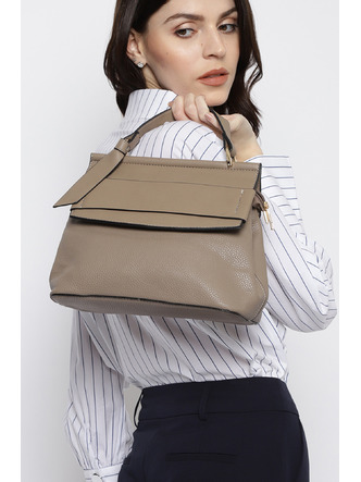 Hand Bags-Be Work Ready Brown Handbag1