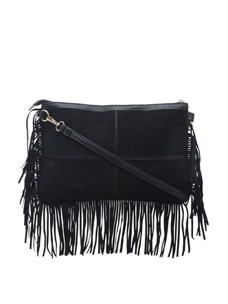 Slings-Black On The Fringes Side Sling 4