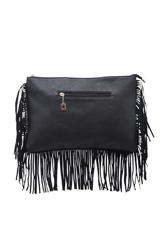 Slings-Black On The Fringes Side Sling 5