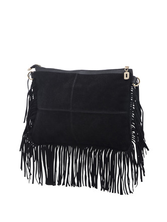 Slings-Black On The Fringes Side Sling 7