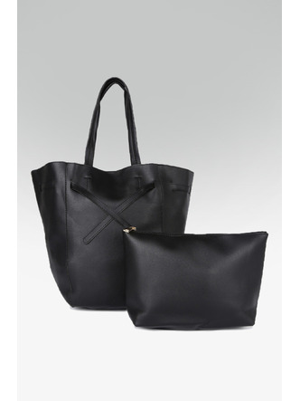 Hand Bags-Black Tied To Fashion Handbag2