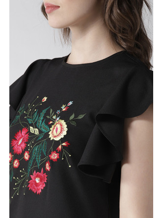 Dresses-Blooms In Black Dress3